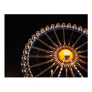 Ferris Wheel Oktoberfest Postcard