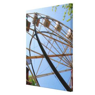 Ferris Wheel on Canvas