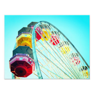 Ferris Wheel Photo Print