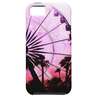 Ferris Wheel (Pink) iPhone SE/5/5S Phone Case