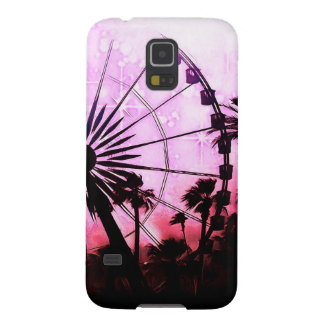 Ferris Wheel (Pink) Samsung Galaxy S5 Phone Case