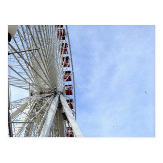 Ferris Wheel Post Card