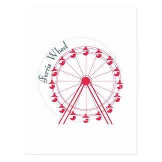 Ferris Wheel Ride Post Cards