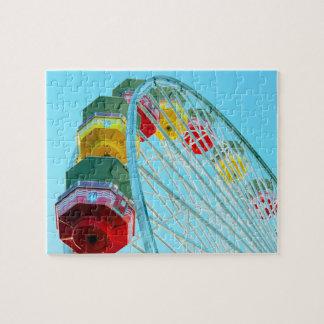 Ferris Wheel - Santa Monica Pier Jigsaw Puzzle