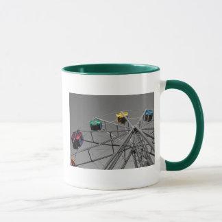 Ferris Wheel(selective color) mug