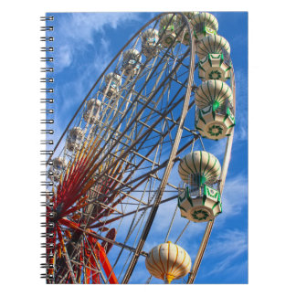 Ferris Wheel Spiral Note Books