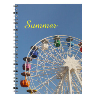 Ferris Wheel Summer Notebook