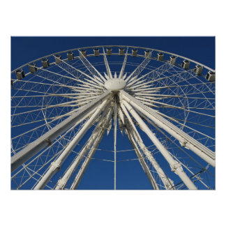Ferris Wheel Symmetry Poster