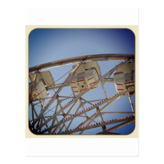 ferris wheel way up high postcard