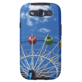 Ferris wheel without visitors samsung galaxy SIII case