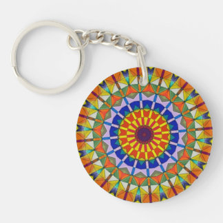 Ferriswheel Kaleidoscope Key Chain
