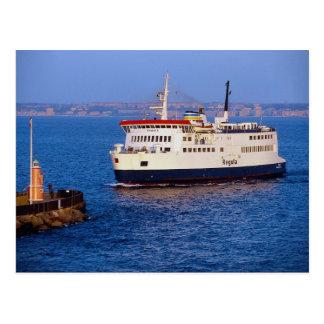 Ferry between Sweden and Denmark, Helsingborg Postcard