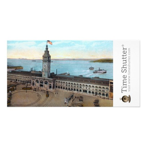 Ferry Building 1910 Personalized Photo Card