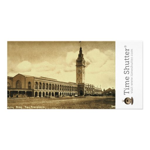 Ferry Building 1915 Personalized Photo Card