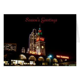 Ferry Building Holiday Card