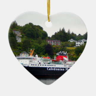 Ferry, Oban, western Scotland Ceramic Ornament