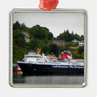 Ferry, Oban, western Scotland Metal Ornament