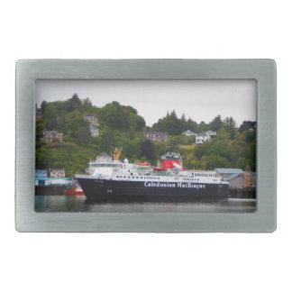 Ferry, Oban, western Scotland Rectangular Belt Buckles