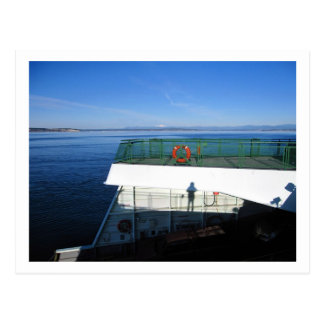 Ferry, Seattle Postcard