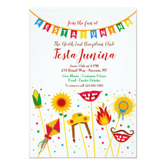 Festa Junina Elements  Invitation