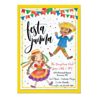 Festa Junina Invitation