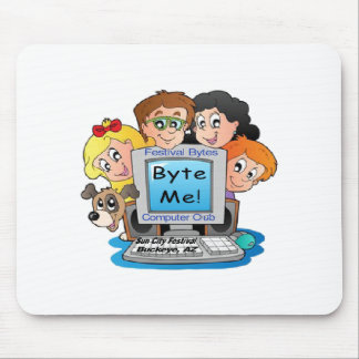Festival Bytes Computer Club Mouse Pad
