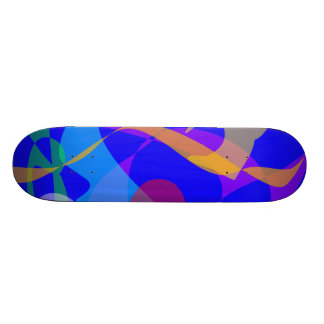 Festival Fireworks Skate Board