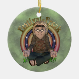 Festival Freak Personalized Ornament