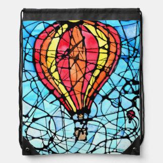 Festival in Flight Drawstring Bag