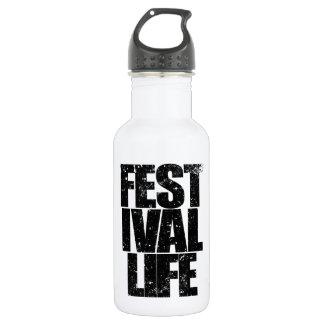 FESTIVAL LIFE (blk) 532 Ml Water Bottle