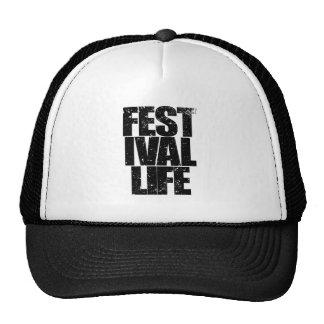 FESTIVAL LIFE (blk) Cap