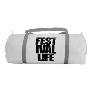FESTIVAL LIFE (blk) Gym Bag