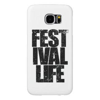 FESTIVAL LIFE (blk) Samsung Galaxy S6 Cases