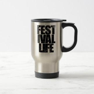 FESTIVAL LIFE (blk) Travel Mug