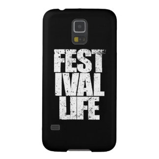 FESTIVAL LIFE (wht) Case For Galaxy S5
