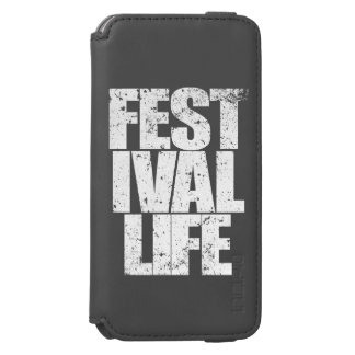 FESTIVAL LIFE (wht) Incipio Watson™ iPhone 6 Wallet Case