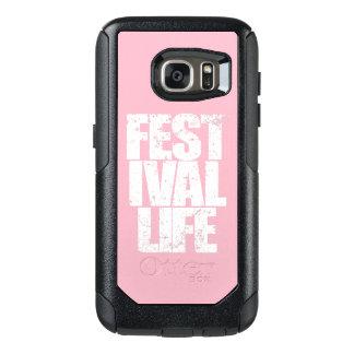FESTIVAL LIFE (wht) OtterBox Samsung Galaxy S7 Case