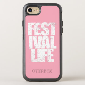 FESTIVAL LIFE (wht) OtterBox Symmetry iPhone 8/7 Case