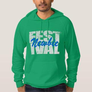 Festival Newbie (wht) Hoodie