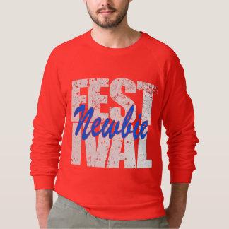 Festival Newbie (wht) Sweatshirt