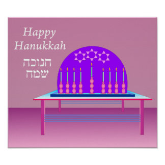 Festival of Hanukkah poster