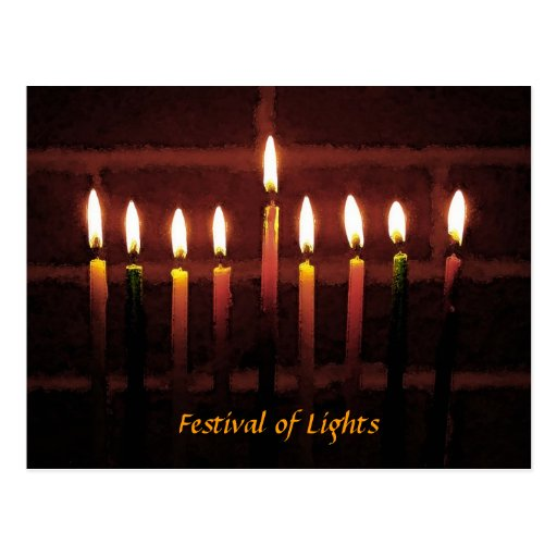 Festival of Lights Post Card
