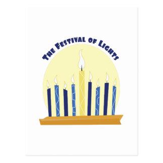 Festival Of Lights Postcard