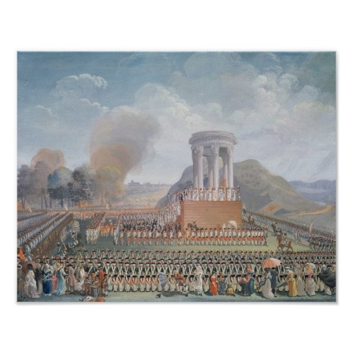 Festival of the Federation, 14th July 1790 Print