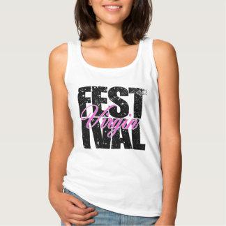 Festival Virgin (blk) Singlet