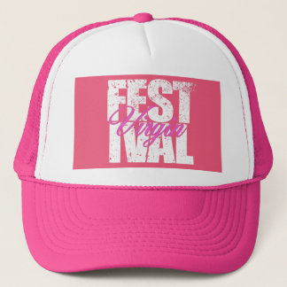 Festival Virgin (wht) Trucker Hat