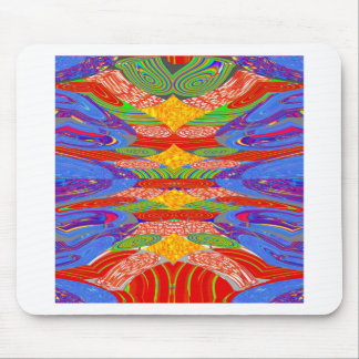 Festivals Alien UFO Colorful Docking Station FUN Mousepad