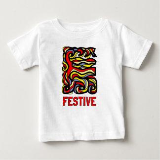 """Festive"" Baby Fine Jersey T-Shirt"