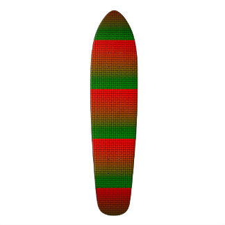 Festive Basketweave Look Skateboard
