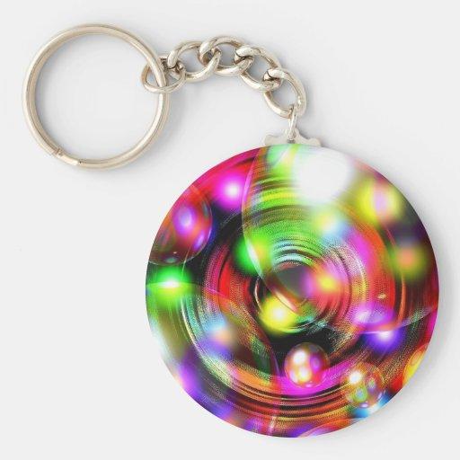 Festive Bubbles Key Chains